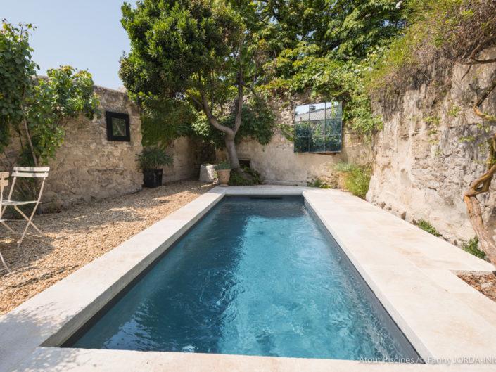 Photo de piscine dans le coeur d'Uzès