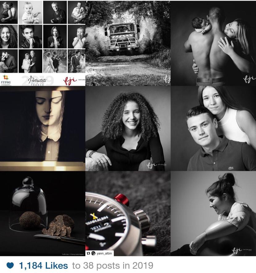 Bestnine 2019 Instagram de Fanny Jorda-Iniguez pro